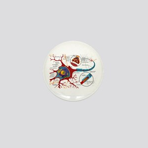 Neuron cell Mini Button