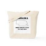 Funny Nebraska Motto Tote Bag