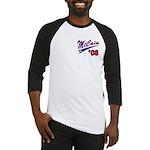 Two Sides Printed Design Baseball Jersey