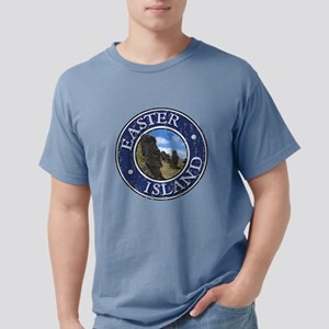 Easter Island - Distressed T-Shirt