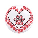Hearts and paw prints 3.5