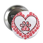 Hearts and paw prints 2.25
