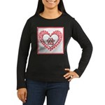 Hearts and paw prints Long Sleeve T-Shirt