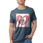 Hearts and paw prints T-Shirt