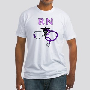 RN Nurse Medical Fitted T-Shirt