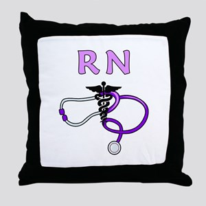 RN Nurse Medical Throw Pillow