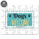 Dogs welcome, people tolerated Puzzle