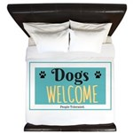 Dogs welcome, people tolerated King Duvet