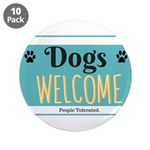 Dogs welcome, people tolerated 3.5