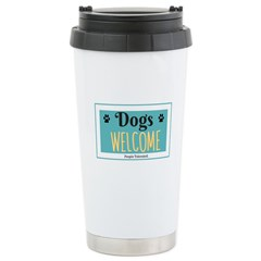 Dogs welcome, people tolerated Mugs
