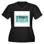 Dogs welcome, people tolerated Plus Size T-Shirt