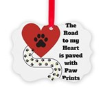The road to my heart is paved with paw prints Orna
