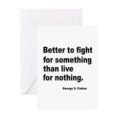Fight for Something Greeting Card