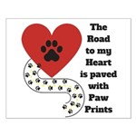 The road to my heart is paved with paw prints Post