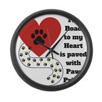 The road to my heart is paved with paw prints Larg