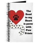 The road to my heart is paved with paw prints Jour