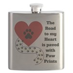 The road to my heart is paved with paw prints Flas