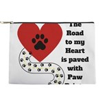 The road to my heart is paved with paw prints Make