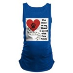 The road to my heart is paved with paw prints Tank