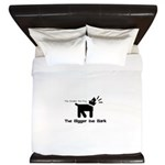 Small dog, big bark King Duvet
