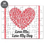 Love me love my dog 2 Puzzle