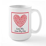 Love me love my dog 2 Mugs