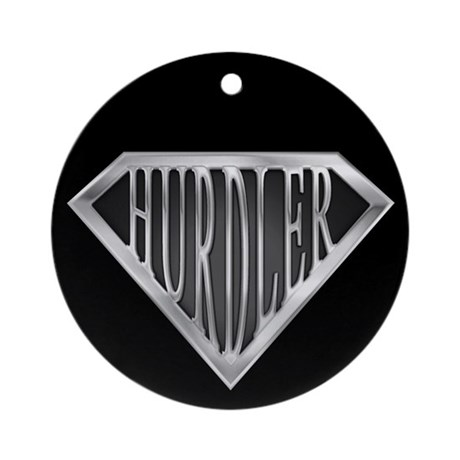SuperHurdler(metal) Ornament (Round)