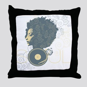 Soul II Throw Pillow
