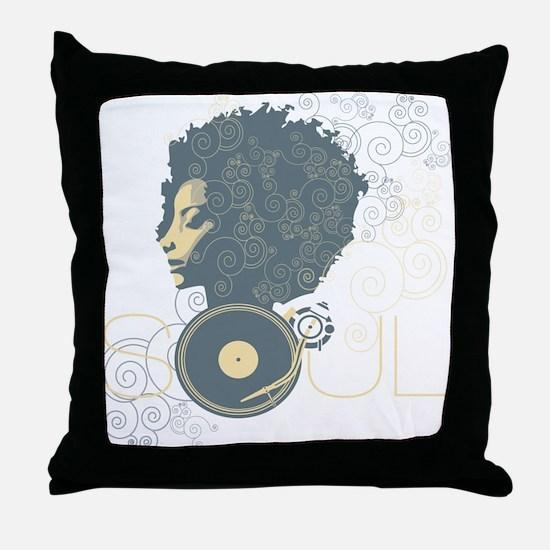 Soul II Throw Pillow