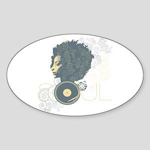 Soul II Oval Sticker