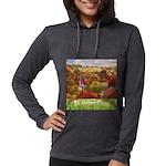 The Village Green Womens Hooded Shirt