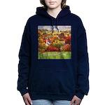 The Village Green Women's Hooded Sweatshirt