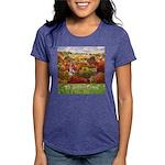 The Village Green Womens Tri-blend T-Shirt