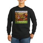 The Village Green Long Sleeve Dark T-Shirt