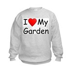 I (Heart) My Garden Kids Sweatshirt
