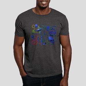A.L.I.E.N. Arcane Circles 12 Dark T-Shirt