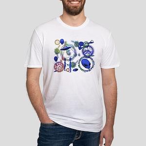 A.L.I.E.N. Arcane Circles 12 Fitted T-Shirt