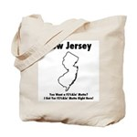 Funny New Jersey Motto Tote Bag