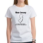 Funny New Jersey Motto Women's T-Shirt