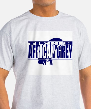 Silhouette Timneh African Grey Light TShirt