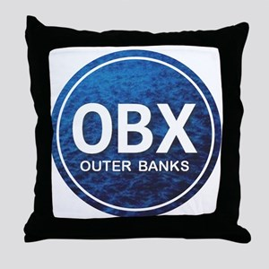 OBX - Outer Banks Throw Pillow