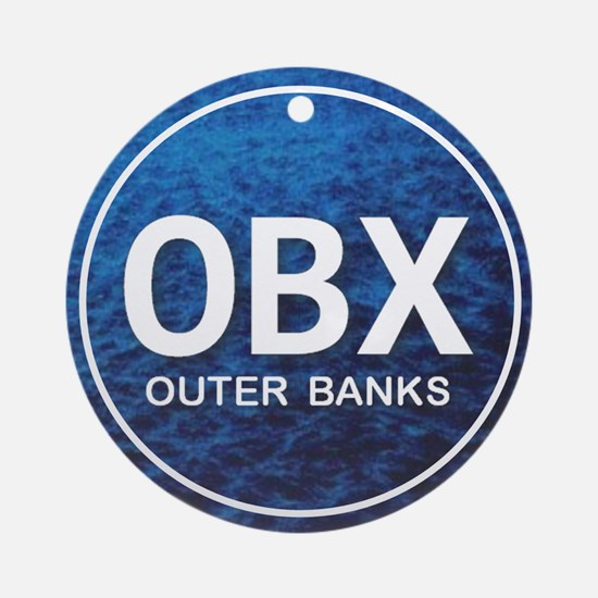 OBX - Outer Banks Ornament (Round)