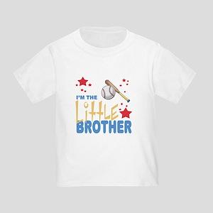 I'm the Little Brother Baseball Toddler T-Shirt