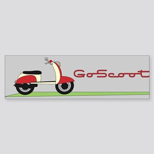 Go Scoot Bumper Sticker