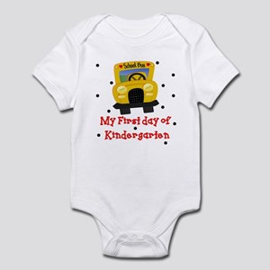My First Day of Kindergarten Baby Infant Bodysuit