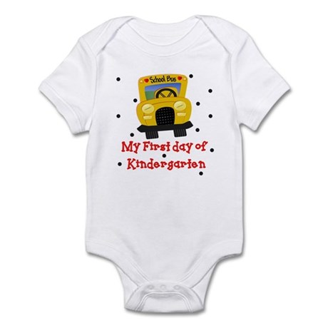 My First Day of Kindergarten Baby Infant Bodysuit