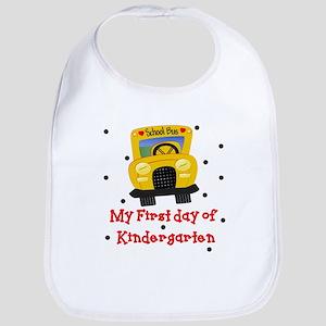 My First Day of Kindergarten Baby Infant Bib