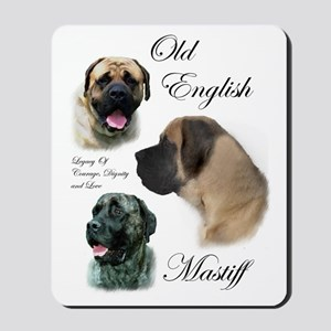Old English Mastiff Mousepad