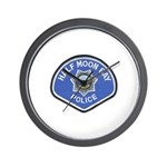 Half Moon Bay Police Wall Clock