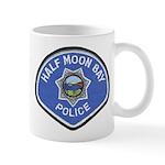 Half Moon Bay Police Mug